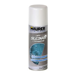 Limpiador Silicona / Pegamentos Maurer 200 Ml. Spray