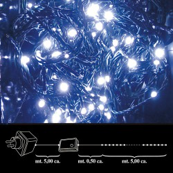 Luces Navidad 100 Leds Blanca Interior / Exterior Ip44