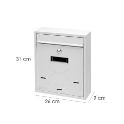 Mantel Hule Rollo 140 cm. x 20 metros Cuadros Rojos