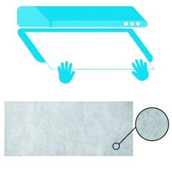 Tapajuntas Adhesivo Para Moquetas Aluminio Sapeli   82,0 cm.