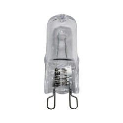 Bombilla Halogena G-9 33 W. 460 lumenes. Luz cálida (3.000ºK)