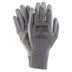 "Guantes Nitrilo / Nylon Glovex  8"" (Par)"