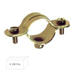 Abrazadera Metalica M-6   14 mm. (Caja 100 piezas)