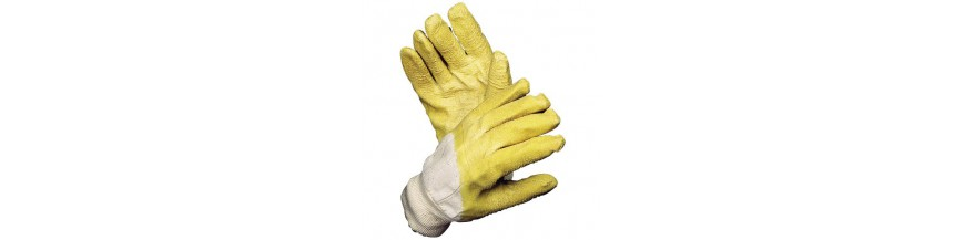 Guantes de latex